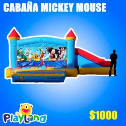 Cabaña Mickey Mouse